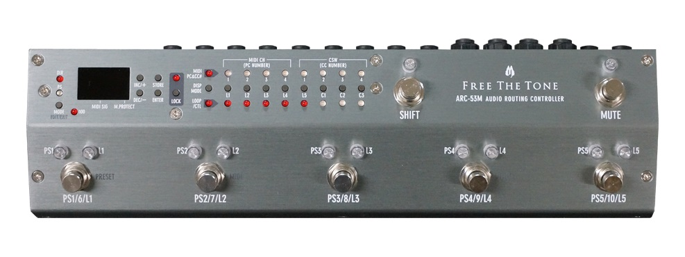 【即納可能】FREE THE TONE Routing Controller ARC-53M シルバー