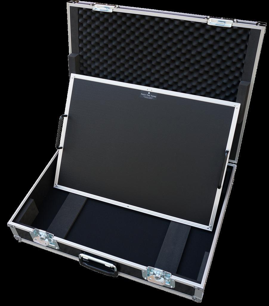 【お取り寄せ商品】FREE THE TONE Forvis Light Pedalboard FP6043(600mmx430mm) with TC-2 [FPボード+TCツアーケースSet]