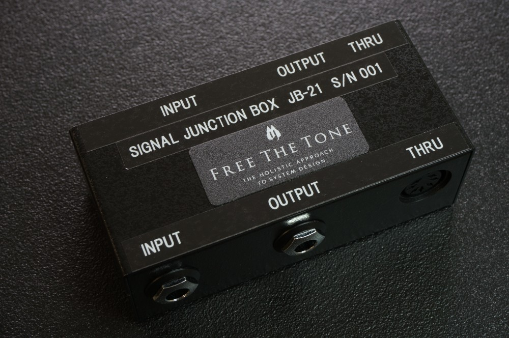 【お取り寄せ商品】FREE THE TONE JB-21/SIGNAL JUNCTION BOX
