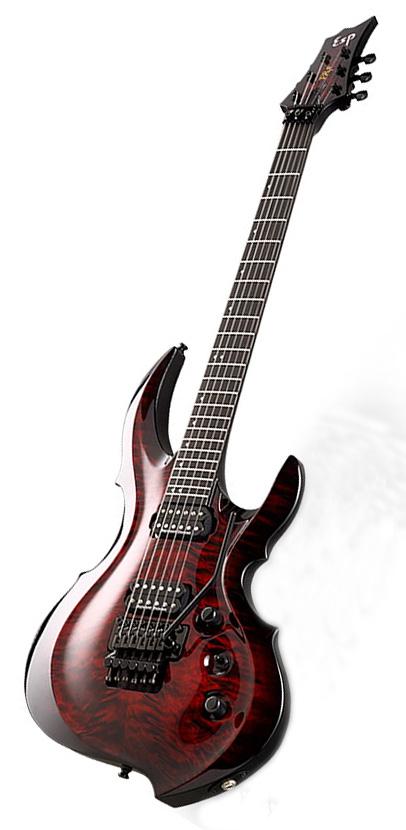 ESP FRX-CTM FR / Black Cherry Sunburst