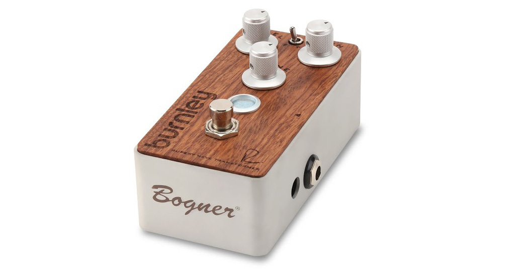 Bogner BURNLEY / BUBINGA EXOTIC WOOD[ディストーションペダル]