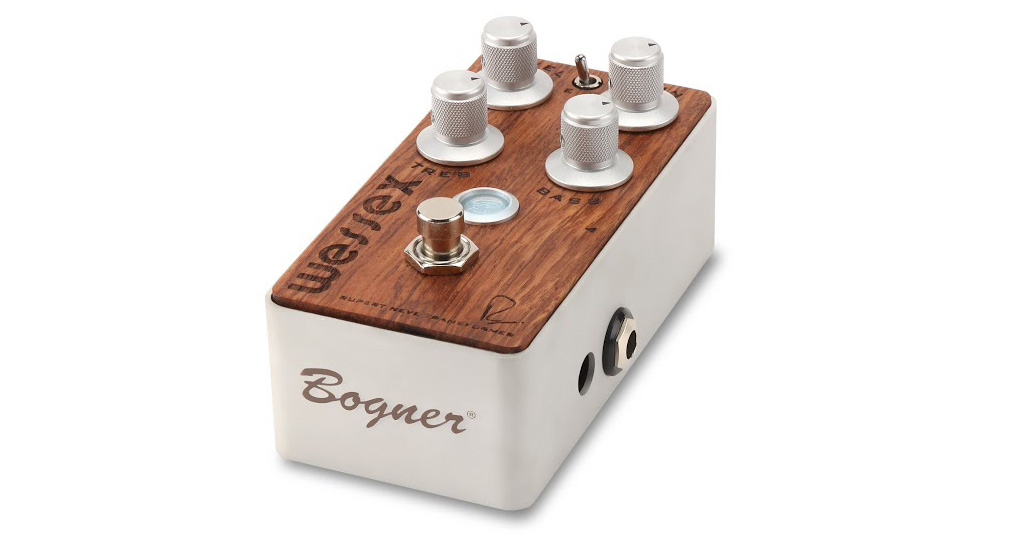 Bogner WESSEX / BUBINGA EXOTIC WOOD[オーバードライブペダル]