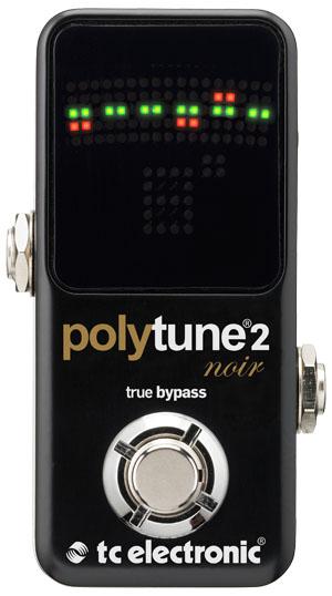 【即納可能】tc electronic PolyTune 2 Noir【特別セール価格!!】