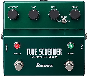 Ibanez TS808DX Turbo Tubescreamer w/Booster