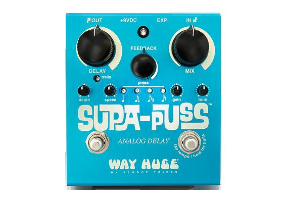 WAY HUGE Supa-Puss Analog Delay WHE707 -900 milliseconds of analog delay-
