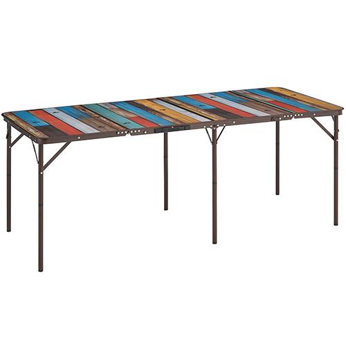 ロゴス LOGOS グランベーシック 丸洗い4FDスリムテーブル 18080 73200041