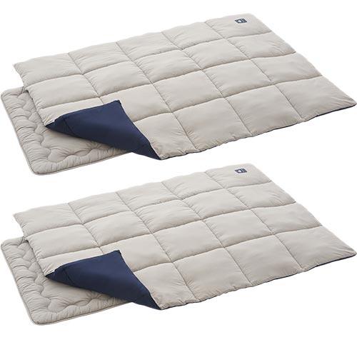 ロゴス LOGOS 丸洗い お布団 シュラフ 0 2個セット 72601000 R12AH005