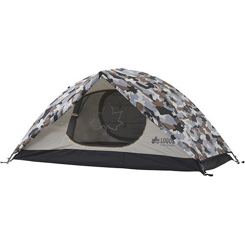 ロゴス LOGOS キャンプ テント SOLOドーム カモフラ 71806007