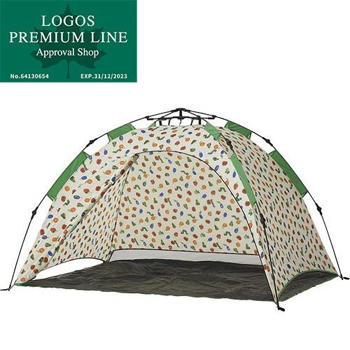 ロゴス LOGOS キャンプ はらぺこあおむし Q-top フルシェード テント 86009001