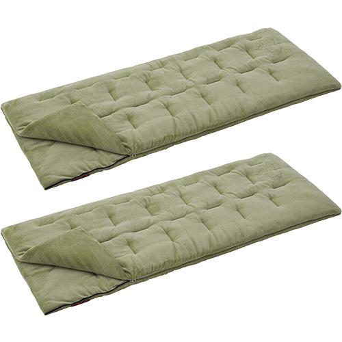 ロゴス LOGOS キャンプ 寝袋 2点セット 丸洗い やわらかシュラフ -2℃ 72600560set