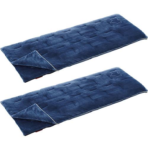 ロゴス LOGOS キャンプ 寝袋 2点セット 丸洗い やわらかシュラフ 2℃ 72600581set