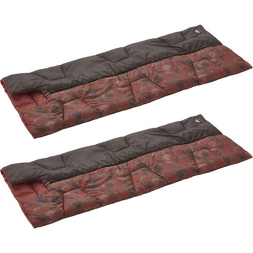 ロゴス LOGOS キャンプ 寝袋 2点セット 丸洗い デザインセンタージップシュラフ プランツ -2℃ 72602000