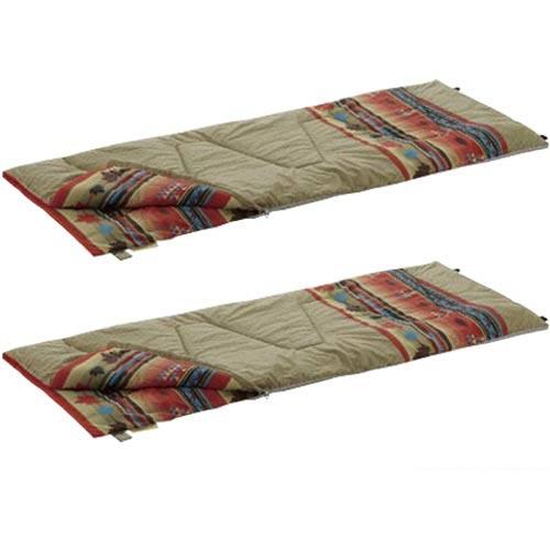 ロゴス LOGOS 丸洗い 寝袋 ナバホ・6 抗菌・防臭 72600640 ×2個セット R12AE004