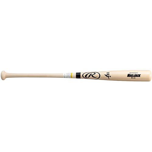 ローリングス Rawlings 野球 硬式 木製バット マックジャック MAC JACK メイプル JAPAN K型 ナチュラル 84cm BHW8FPRO