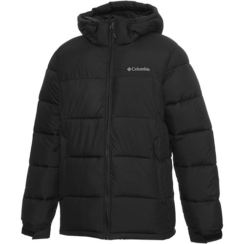 コロンビア Columbia アウター メンズ パイクレークフーデッド ジャケット Black WE0020 010