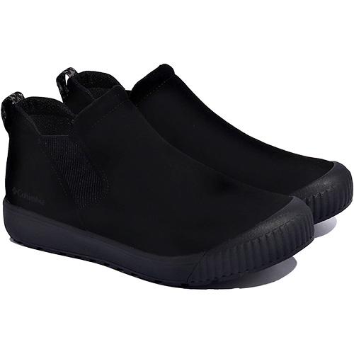 お得 靴 アウトドア タウンユース コロンビア Columbia 予約販売品 入荷予定 メンズ レディース サイドゴアシューズ Waterproof Alberta 010 アルバータストリートスリップウォータープルーフ ブラック Street Slip YU0297