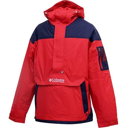 コロンビア Columbia メンズ アウター 防寒 チャレンジャー プルオーバー Challenger Pullover MOUNTAIN RED WO1136 614