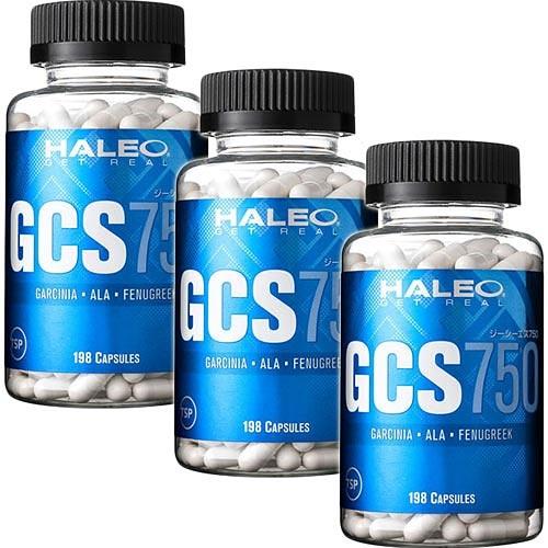 ハレオ HALEO GCS750 198カプセル 3個セット
