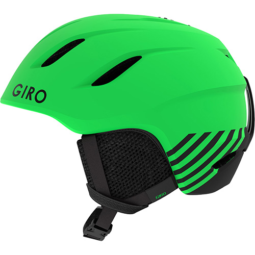 ジロ GIRO NINE JR AF ナインジュニア アジアンフィット スノーボードヘルメット Matte Bright Green Zoom 70941 キッズ