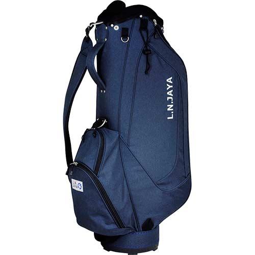 エルエヌジァヤ LN JAYA キャディバッグ ネイビー 48インチ対応 8.5型用 LNCB-7253