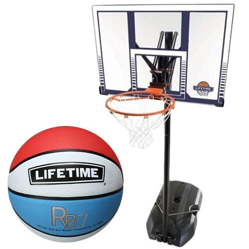 ライフタイム LIFE TIME バスケットゴール LT-90001 7号ボールセット