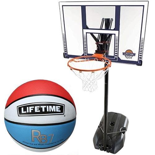 5号ボールセット TIME LT-90001 LIFE 【特殊送料】ライフタイム バスケットゴール