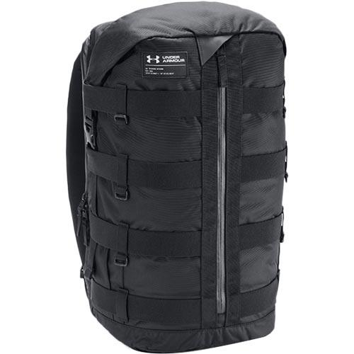 アンダーアーマー UNDER ARMOUR バックパック UA PURSUIT OF VICTORY GEAR BAG 001:BLK/ブラック 1316957
