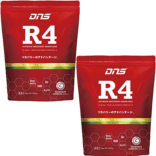 ディーエヌエス DNS R4 アルティメット リカバリー アドバンテージ レモンライム 600g 2袋セット D11000520101