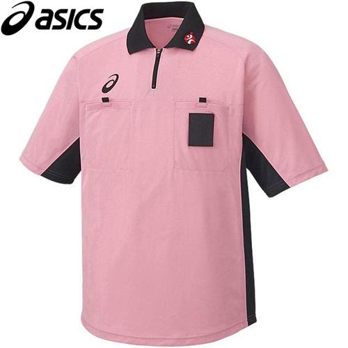 ハンドボール 大幅にプライスダウン 審判 ウェア アシックス レフリーシャツ 公式 XH6003 ピンク asics