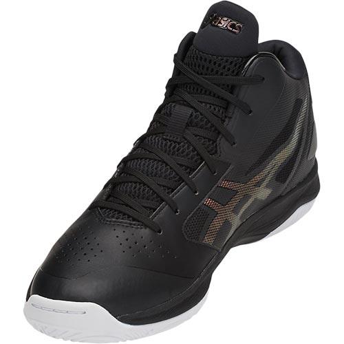 アシックス asics バスケットボールシューズ GELHOOP V 10 ゲルフープ ブラック×プリズムファイアレッド TBF339 9026 メンズ レディース