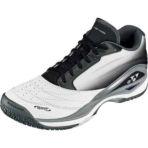 ヨネックス YONEX パワークッションコンフォート ワイド 2 GC テニス シューズ ホワイト/ブラック SHTCW2GC 141 メンズ レディース