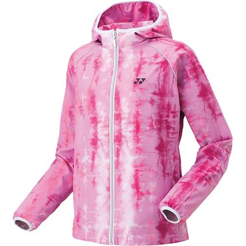 ヨネックス YONEX ウィメンズ ウィンドウォーマーフードシャツ ピンク 78050 026 レディース