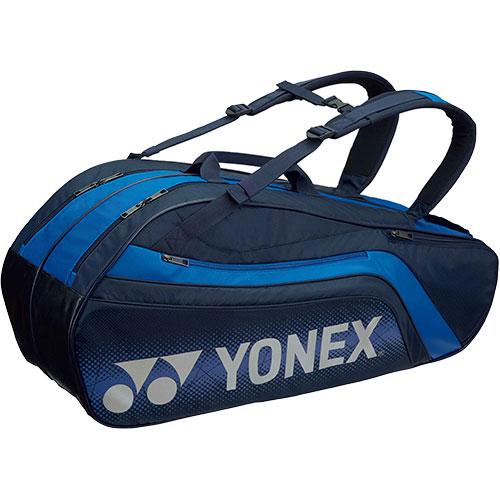 ヨネックス YONEX ラケットバッグ6 リュック付き ネイビーブルー BAG1812R 019