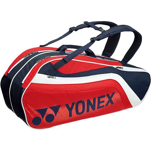 ヨネックス YONEX ラケットバッグ6 リュック付き ネイビー/レッド BAG1812R 097