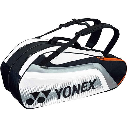 ヨネックス YONEX ラケットバッグ6 リュック付き ブラック/ホワイト BAG1812R 245