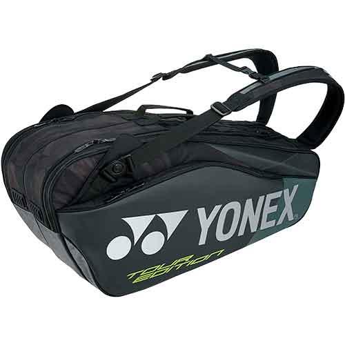 ヨネックス YONEX ラケットバッグ6 リュック付 ブラック BAG1802R 007