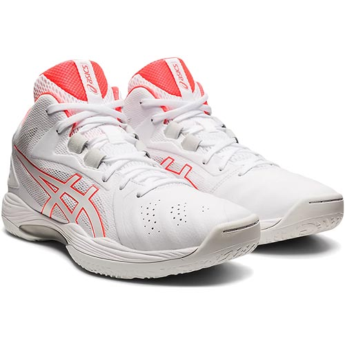 2021年秋冬モデル バッシュ ランキング総合1位 靴 部活動 アシックス asics 日時指定 メンズ バスケットボールシューズ ゲルフープV13 GELHOOP ホワイト V13 1063A035 103 フラッシュコーラル