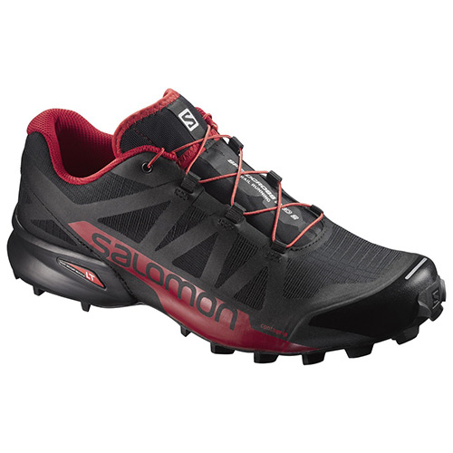 サロモン SALOMON SPEEDCROSS PRO 2 スピードクロス プロ 2 BLACK/BARBADOS CHERRY/BLACK 398429 メンズ