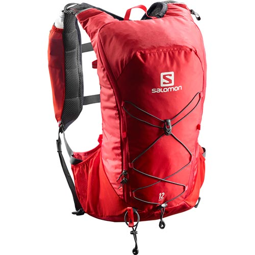 サロモン SALOMON アジャイル12セット AGILE 12 SET BARBADOS CHERRY/GRAPHITE L40163500