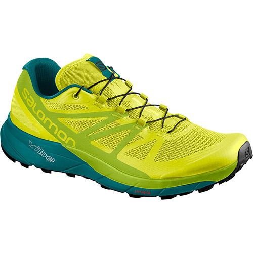 サロモン SALOMON センスライド SENSE RIDE SULPHUR SPRING/LIME GREEN/DEEP LAKE L40250100 メンズ