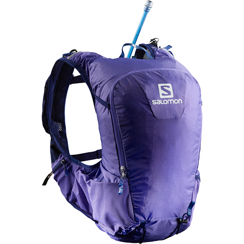 サロモン SALOMON スキンプロ15セット SKIN PRO 15 SET PURPLE OPULENCE/MEDIEVAL BLUE L40136700