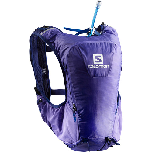 サロモン SALOMON スキンプロ10セットSKIN PRO 10 SET PURPLE OPULENCE/MEDIEVAL BLUE L40137100