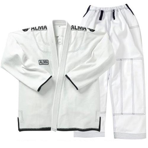 【受注生産品】アルマ ALMA コンペディションキモノ A0 白 上下セット JU3-A0-WH
