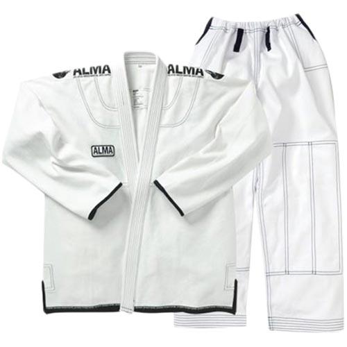 【受注生産品】アルマ ALMA コンペディションキモノ A2 白 上下セット JU3-A2-WH