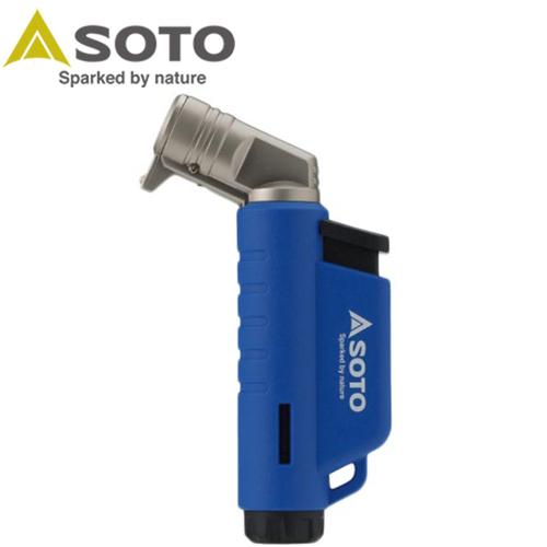 訳あり商品 アウトドア 小型 バーナー ソト SOTO アウトドア用品 ACTIVE マイクロトーチ BL ブルー ST-486 メーカー公式ショップ アクティブ