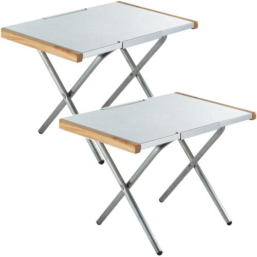 ユニフレーム UNIFLAME 2点セット テーブル 焚き火テーブル ステンレス 682104