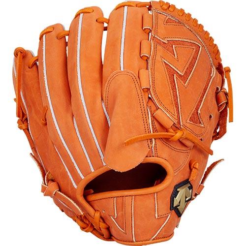 デサント DESCENTE 野球 軟式 投手用 グラブ オレンジ×ブラウン DBBLJG50 ORG