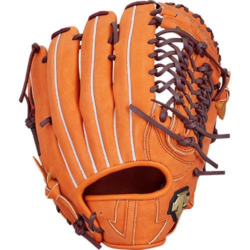 デサント DESCENTE 野球 軟式 外野手用 グラブ オレンジ×ブラウン DBBLJG57 ORG