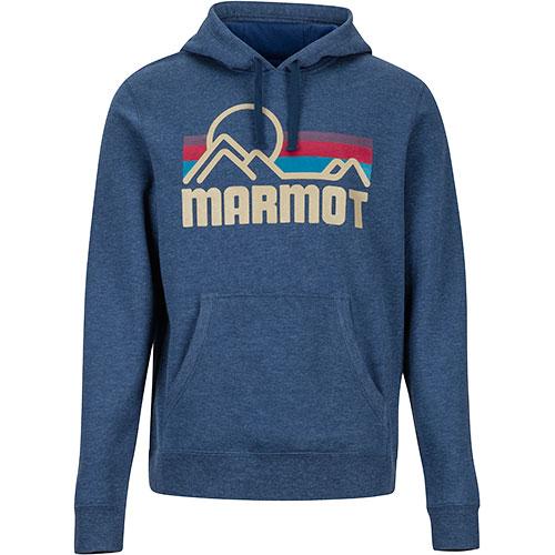 マーモット Marmot メンズ パーカー コースタルフーディー COASTAL HOODY 2829/ヴィンテージネイビーヘザー TOMMGB4936