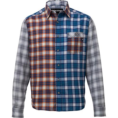 マーモット Marmot メンズ 長袖シャツ タータンチェックドライ ロングスリーブシャツ TARTAN CHECK DRY L/S ML/マルチ TOMMJB75